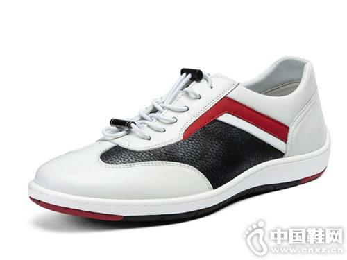 宾度男鞋韩版时尚休闲皮鞋新款