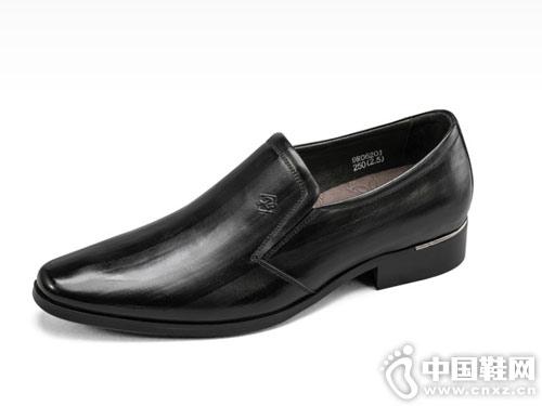 2019春夏季新款宾度男士英伦皮鞋