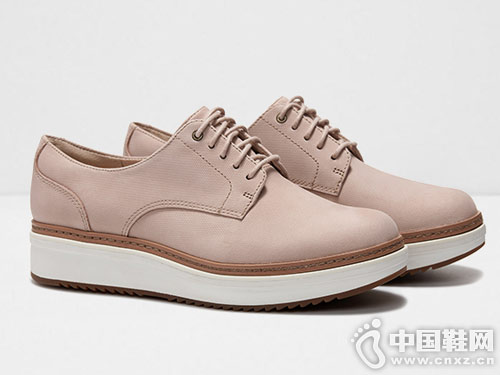 clarks其乐2019新款女鞋松糕鞋