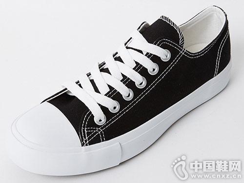 美特斯邦威2019新款板鞋休闲帆布鞋
