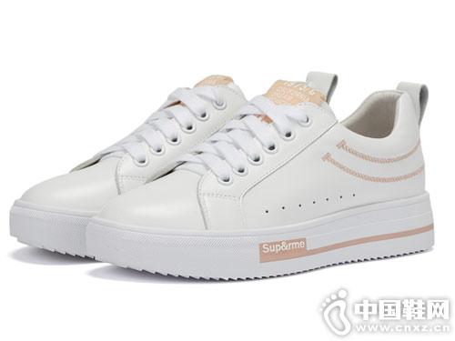 西村名物2019春季 休闲小白鞋