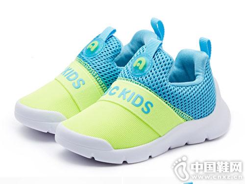 abckids童鞋1-3岁运动鞋透气拼接机能鞋潮