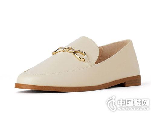 2019ZARA 新款 女鞋 皮质莫卡辛鞋
