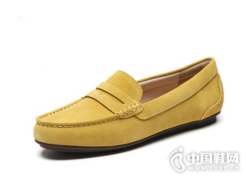 JUMBO简帛豆豆鞋女2019春季新款