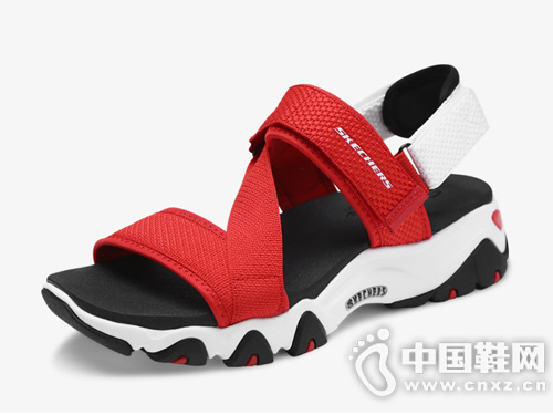 Skechers斯凯奇 时尚休闲的凉鞋设计