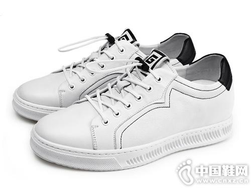 高哥增高鞋6cm小白鞋 鞋潮鞋网红板鞋