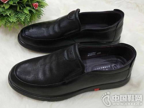 甲尔申新款男款单鞋软底软面头层牛皮