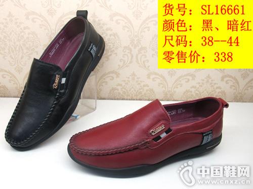 甲尔申真皮皮鞋 2019新款休闲手工鞋