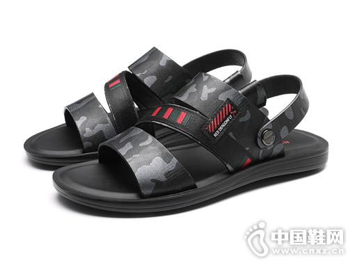 凉鞋潮鞋红蜻蜓男鞋2019新款