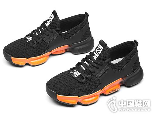百搭运动透气潮鞋新款君步运动休闲鞋