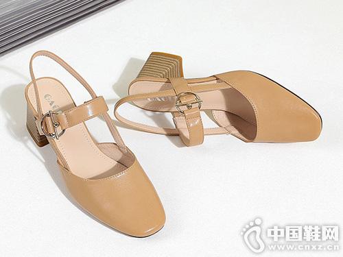 高蒂赫本鞋女新款玛丽珍2019夏季
