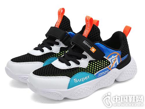 哈皮尼男童网鞋夏季镂空儿童运动鞋