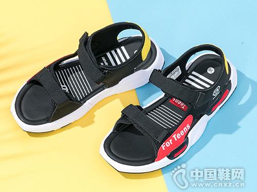 七波辉2019新款 韩版儿童凉鞋