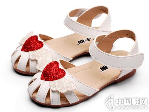 卡卡树儿童凉鞋包头2019新款夏季