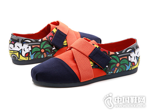jm快乐玛丽2019春季新款平底套脚休闲鞋