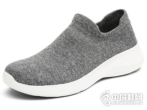 JUMBO简帛2019新款夏一脚蹬袜套鞋