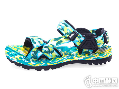 圣弗莱夏季轻便沙滩鞋平底涉水鞋