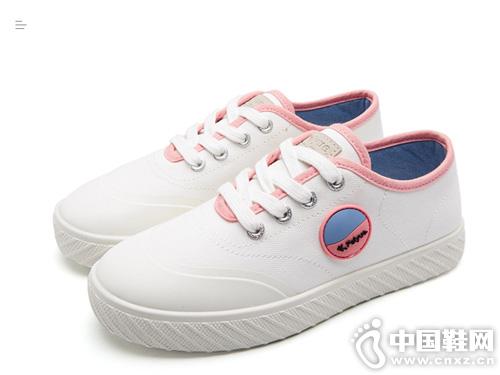 新款小白鞋学生时尚Feiyue飞跃女鞋帆布鞋