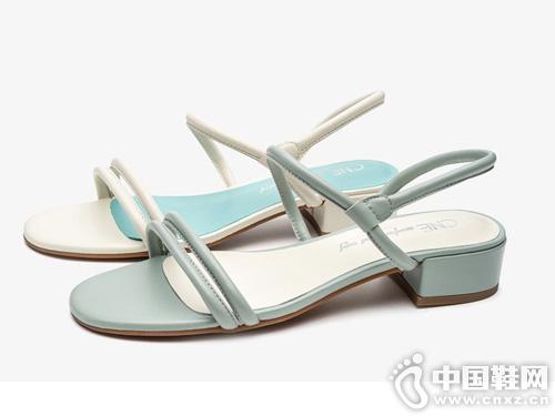 CNE2019夏季新款凉鞋女仙女风晚晚鞋
