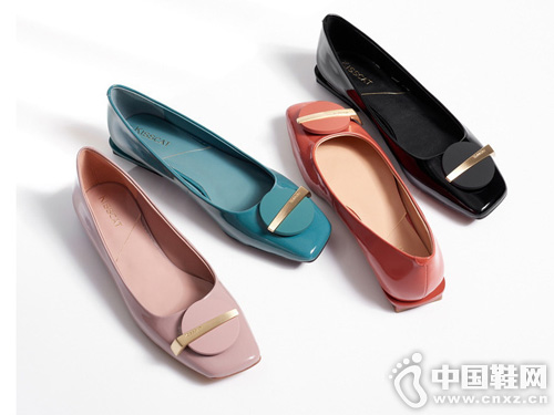 Kisscat接吻猫2019秋新款船鞋