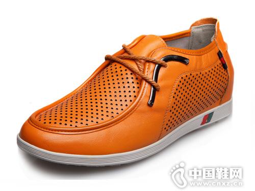 田宇增高鞋5cm男式内增高皮鞋