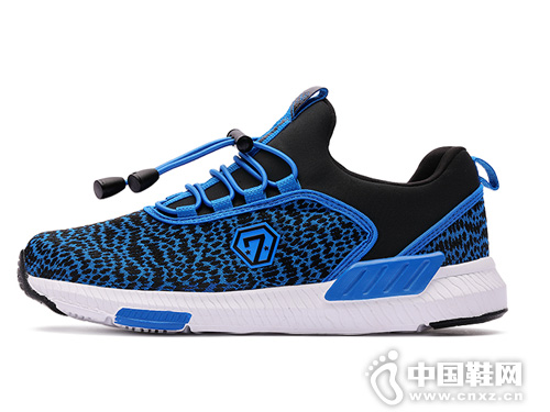 七波辉男童儿童运动鞋2019秋季新款