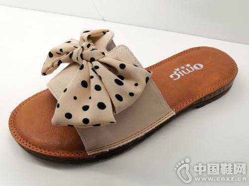 欧米高女式凉鞋拖鞋平底韩版百搭