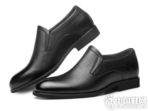 高哥增高鞋-男2019秋季新款隐形内增高皮鞋