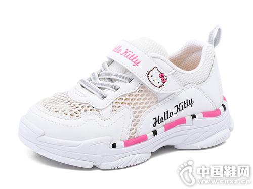 2019春夏新款HELLO-KITTY凯蒂猫儿童单网鞋
