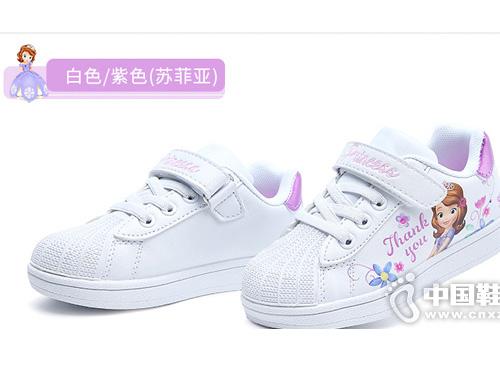 迪士尼童鞋小白鞋运动鞋2019秋冬新款