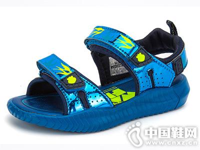 笨笨熊男童凉鞋儿童沙滩鞋2019夏新款