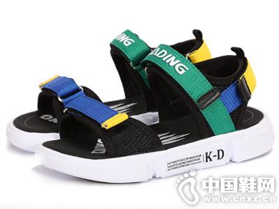 卡丁男童凉鞋儿童沙滩鞋2019夏季新款