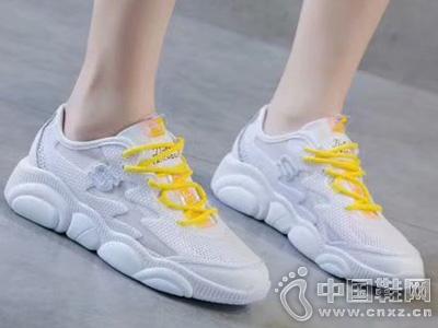 2019广百圆运动鞋女鞋新款韩版小白鞋