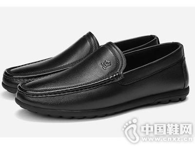 梦特娇男鞋2019秋季新款青年乐福鞋