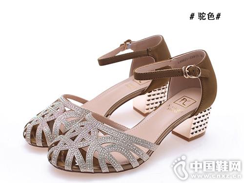 xyxyly香香莉2019夏季新款舒适一字扣潮流风凉鞋