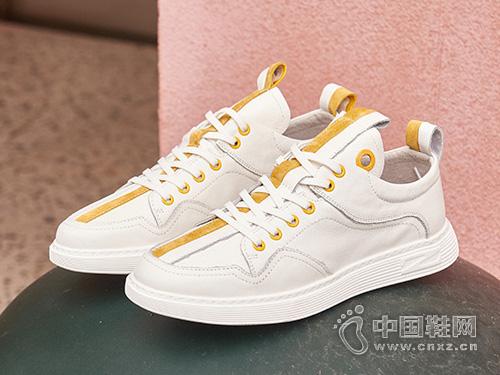 名郎男鞋夏季潮鞋透气小白鞋