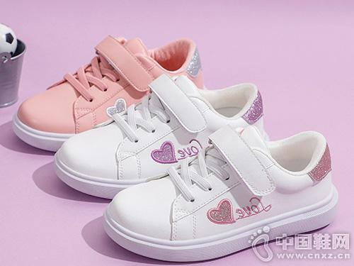红蜻蜓童鞋2019秋季新款女童运动鞋时尚