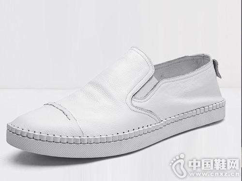惠特男鞋真皮小白鞋男夏季新款