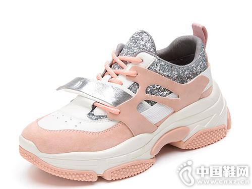 Kiss-Kitty2019秋季新款透气老爹鞋