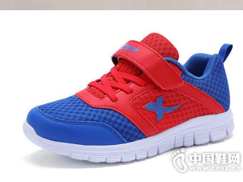 特步儿童鞋子新款网面透气男孩跑步鞋