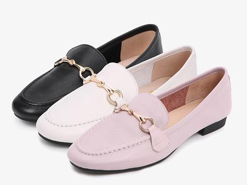 百丽乐福鞋女鞋子2019新款-潮流轻盈
