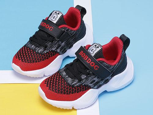 巴布豆童鞋运动鞋2019秋季新款
