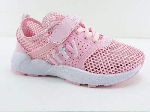 米菲童鞋夏季单网镂空透气鞋