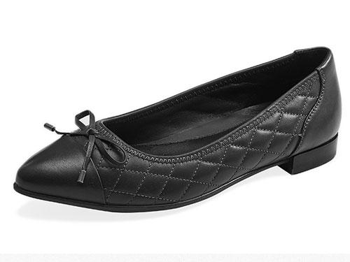 COZY-STEPS新款浅口蝴蝶结单鞋时尚简约