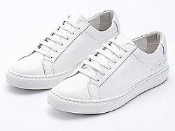 贝妃尼小白鞋Common百搭真皮平底板鞋