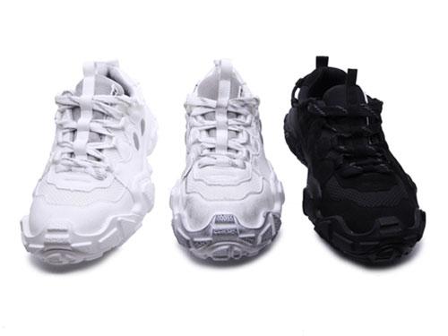 OKKO厚底低帮户外运动鞋情侣丑萌鞋做旧脏脏鞋