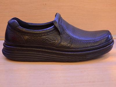 雅乐士男鞋新款软牛皮气垫商务休闲皮鞋
