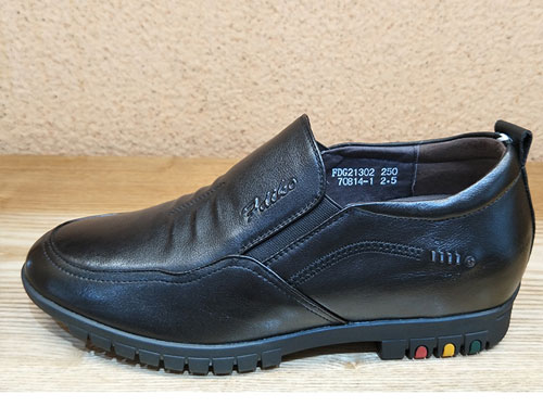 梵狄高秋季热销新款商务休闲皮鞋