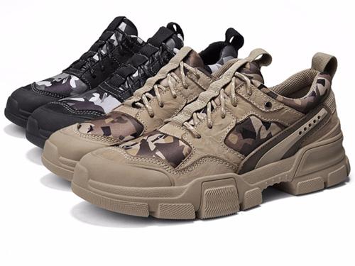 Dunlop登路普2019新款鞋子迷彩鞋