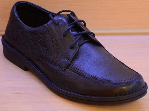 雅乐士男鞋新款正品头层软牛皮气垫休闲皮鞋